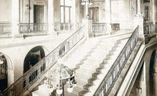 Stairway - National House in Smichov